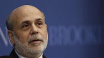 Bernanke says energy a 'bright spot,' upbeat on jobs data