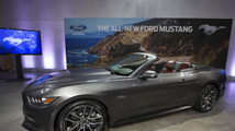 Ford Motor Co. unveils its all new 2015 Ford Mustang GT at an event in New York
