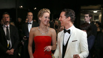Jennifer Lawrence, Matthew McConaughey