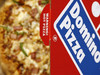 A Domino's Pizza is pictured in its box in central London