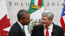 Obama good for hockey beer bet: Canadian Prime Minister Harper