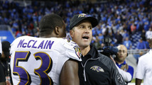 John Harbaugh, Jameel McClain