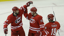 Jay Harrison, Riley Nash, Jiri Tlusty