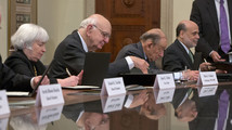Ben Bernanke, Paul Vocker, Alan Greenspan, Janet Yellen