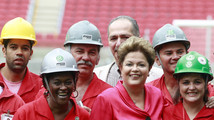 Brazil presidential poll tips Rousseff win; Neves support slips
