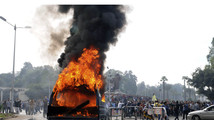 Egypt police clear protesters; constitution agreed