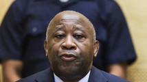Former Ivory Coast President Gbagbo attends a confirmation of charges hearing in his pre-trial at the International Criminal Court in The Hague