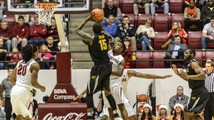 No. 11 Wichita State holds on 72-67 over Alabama