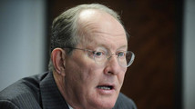 U.S. Senator Alexander speaks during the Reuters Washington Summit in Washington