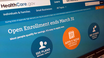 Health law cited as US uninsured rate drops
