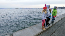 Winter high 'king' tides on Washington shores