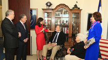 George H.W. Bush given LBJ Foundation award