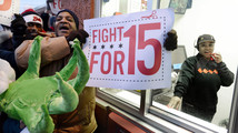Fast-food wage protest fizzles in Salt Lake City