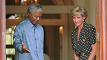Diana Princess Of Wales, Nelson Mandela