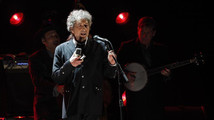 Singer Bob Dylan performs during a segment honoring Director Martin Scorsese in Los Angeles