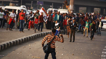 Egypt revolutionaries make return to Tahrir Square
