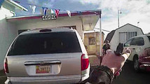 Video: Albuquerque officer shot at suspect 8 times