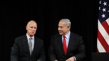 California governor seeks drought help from Israel's Netanyahu