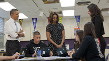 Barack Obama, Michelle Obama, Amy Shapiro, Marko Platts