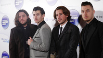 Musicians from the Arctic Monkeys, nominees for the Mercury Music Prize, pose for a photograph ahead of the ceremony in north London