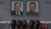 NKorea tries to project unity on death anniversary