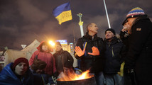 Ukraine capital braces for massive protest