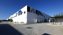 The factory of Italian JAL Group is seen after it closed down in Menzel Jemil
