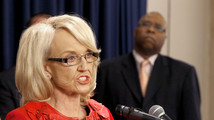 Jan Brewer, Clarence Carter