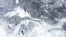Snow, ice cover will boost Great Lakes levels