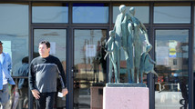 Parts of stolen statue found at Texas recycler