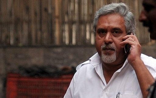 Indian liquor baron Vijay Mallya