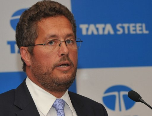 Karl-Ulrich Koehler is chief executive of Tata Steel's European operations