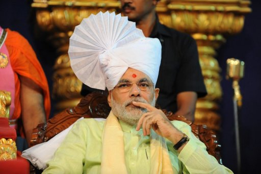 Chief Minister of Western India's Gujarat state Narendra Modi, pictured in 2011
