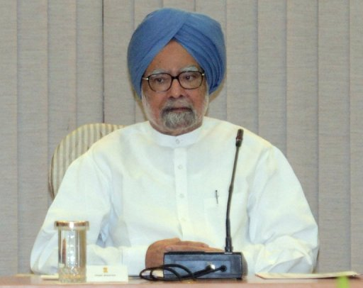 "Indian PM Manmohan Singh has said the economic ""gloom and doom"" clouding the country in recent years has been dispelled"