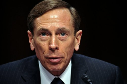 CIA chief David Petraeus, pictured in January 2012, is visiting Turkey for meetings on regional issues