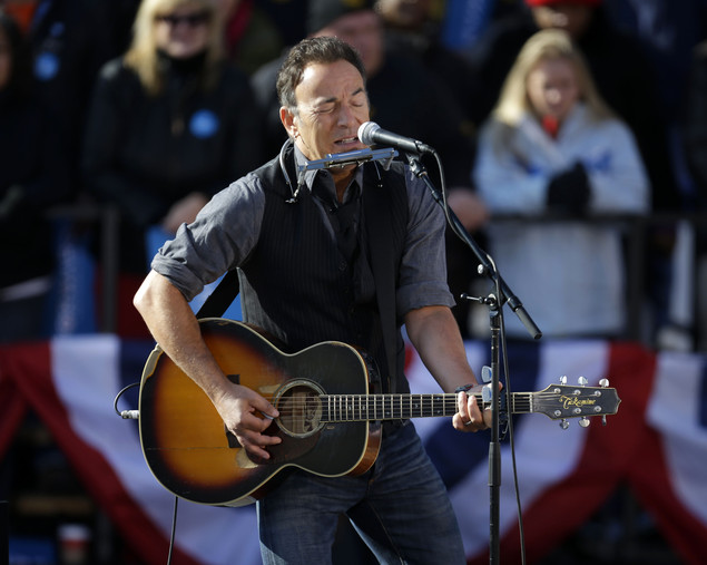 Springsteen: 'A world that challenges hopefulness'