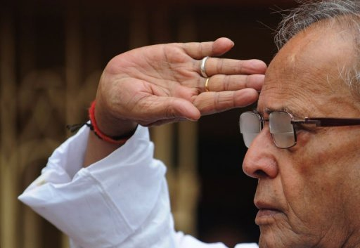 Ruling Congress party loyalist Pranab Mukherjee