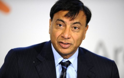 Lakshmi Mittal's fortune dropped in value by 27 percent to £12.7 billion
