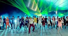 Masivo baile de Gangnam Style