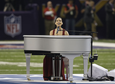 Alicia Keys is NBA All-Star halftime performer