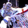 Weather delays return from space of Russian torchbearers, U.S. astronaut