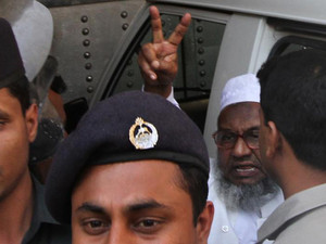 Abdul Quader Molla at the central jail in Dhaka on February 5, 2013