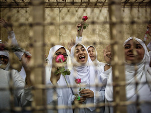 Egypt court cuts sentences against Islamist women