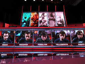 'League of Legends' players become eSport stars