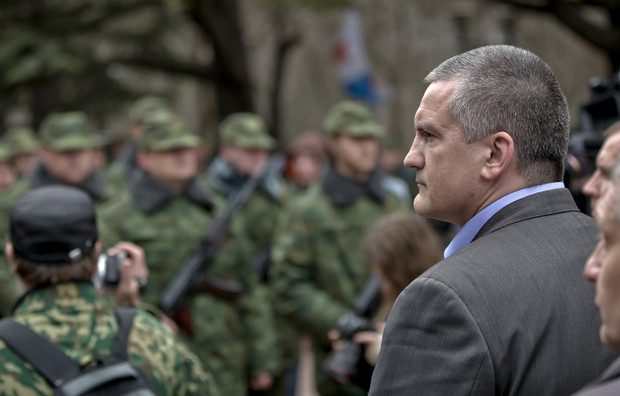 Crimea's new leader, a man with a murky past