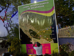 Nicaragua in thrall of canal dream; worries remain