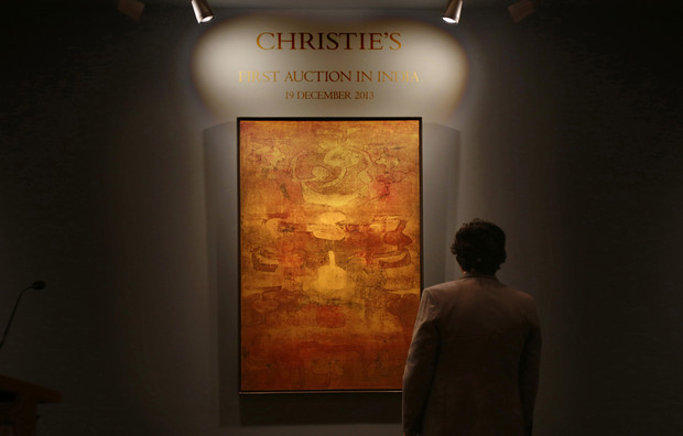 Christie's launches in India to tap growing wealth