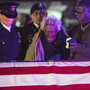 Widow gets remains of soldier lost in Korean War