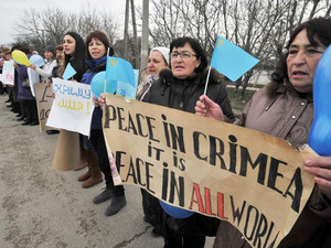 Crimean Tatars weary of Russia referendum