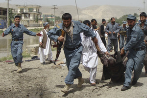 Suicide bomber kills 14 at Afghan province council